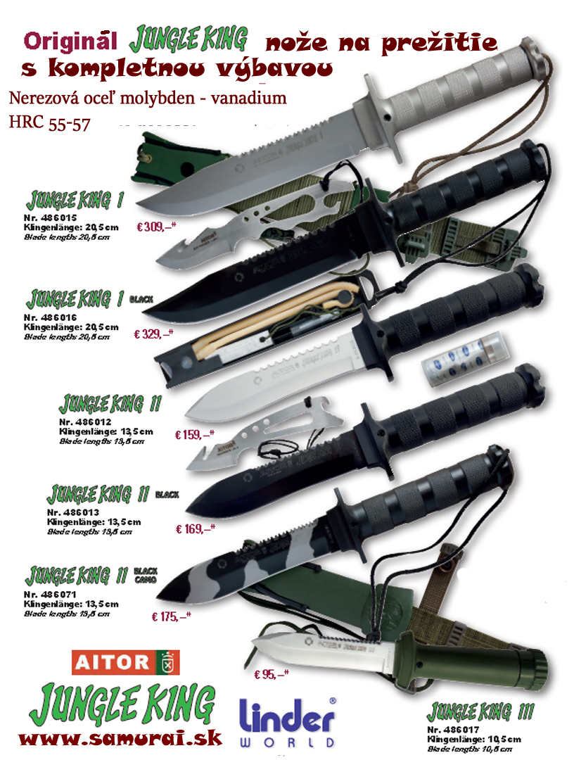 AiTOR survival knives