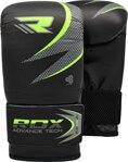 BOXING BAG MITTS BLACK/GREEN