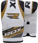 BOXING BAG MITTS GOLDEN