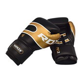 BOXING GLOVES PRO S7 BLACK BAZOOKA