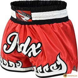 CLOTHING R-5 MUAY THAI SHORTS RED
