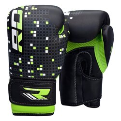 BOXING GLOVEKIDS BLACK/GREEN