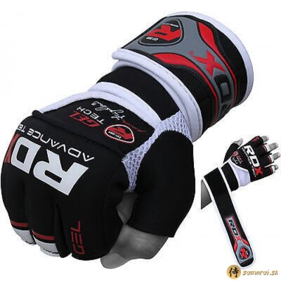 GRAPPLING GLOVE GEL X5 RED/BLACK