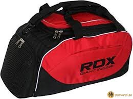 GYM KIT BAG RDX BLACK/RED