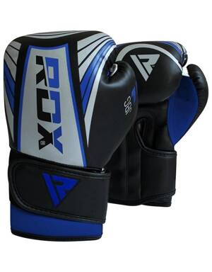 BOXING GLOVES JUNIOR BLUE/SILVER
